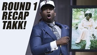 Takkarist McKinley Drops F Bomb at NFL DRAFT