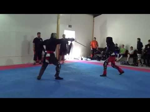 FightCamp 2015 military sabre fencing competition - HEMA