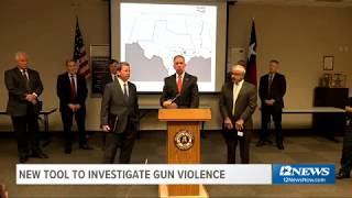 Beaumont Police, ATF announce new gun database tool to investigate, prosecute gun violence