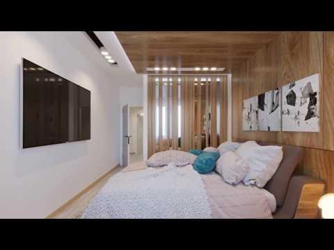 Трехкомнатная квартира 84 м  комфорта в Калининграде ул  Артиллерийская, Верхнее озеро. Новостройки