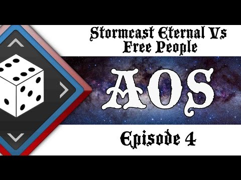 (cool guys nation) Age of Sigmar ep 4 Free People Vs Stormcast Eternals