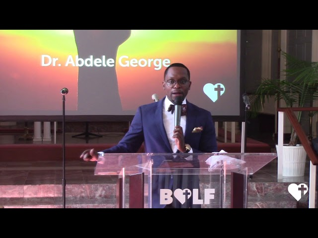 Just Go For It - Dr. Abdele George