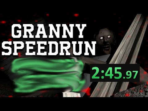 Granny Speedrun World Record [2:45] (PC)