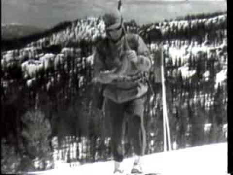 SKI SAFETY - US Army Ski Patrol Skiing Video