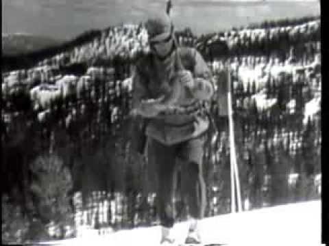 SKI SAFETY - US Army Ski Patrol Skiing Video