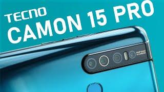 Отдаю смартфон в хорошие руки! Tecno Camon 15 Pro /  ОБЗОР