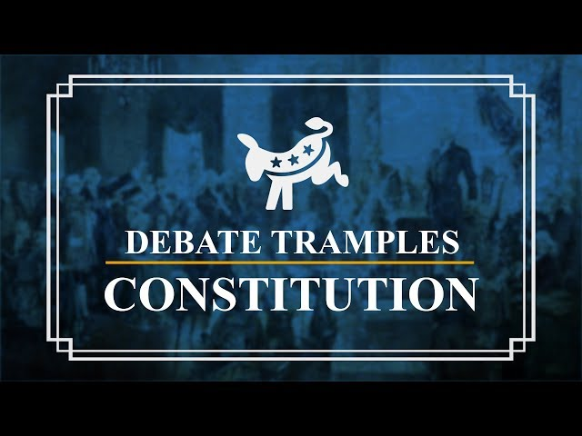 Democratic Party Presidential Debates | Constitution Corner