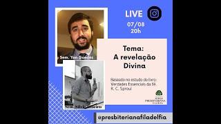 Deus se revela aos homens?   Revelação Divina (LIVE)   Com Silvio Ribeiro & Yan   Sementes de Fé