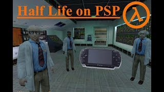 Half Life on PSP (With Download links)