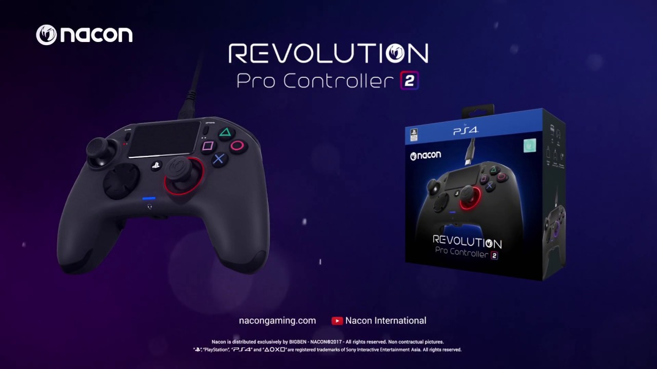 1/5 PS4 Revolution專業控制器2 介紹影片