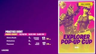 PRACTICE EXPLORER POP UP CUP DUOS /
