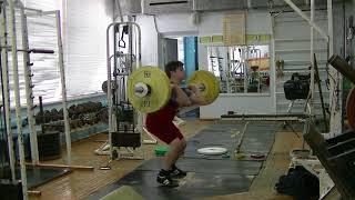 Пряничников Максим, 10 лет, вк 62 Толчок 51 кг Есть личный Рекорд!
