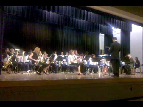 """League Academy 7 & 8 band """"Frosty the Snowman"""""""