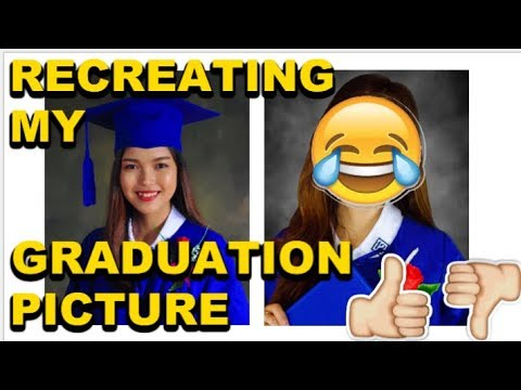 I TRIED RECREATING MY GRADUATION PICTURE! (DIY, EASY&BUDGETFRIENDLY) |Claudiee101