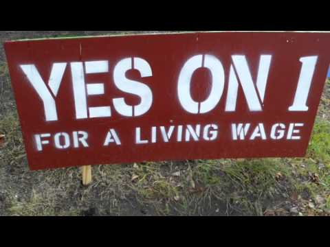 Yes On 1, $15.00 an Hour, Wages, Portland, Maine 2015