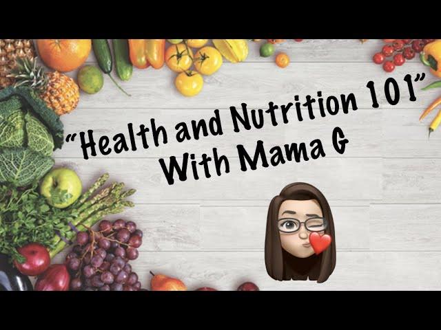 January 6, 2020: Nutrition/Fitness 101