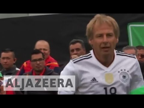 Mexico re-play Germany in 1986 legends game