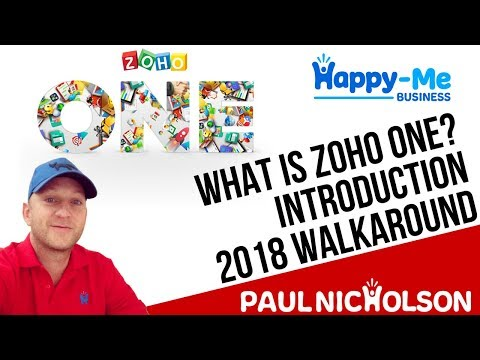 What Is Zoho ONE? Introduction Walk around - 35 Zoho Apps 1 Price