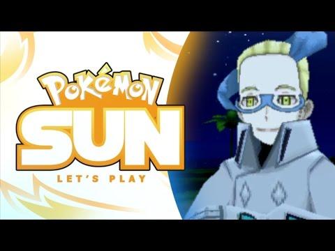 Colress?! - Pokemon Sun Let's Play Walkthrough Part 18 - MandJTV Playthrough
