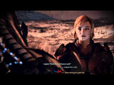 Mass Effect 3 : How to make peace between Quarians and Geth