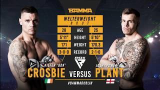 BAMMA 35: Kiefer Crosbie vs Josh Plant