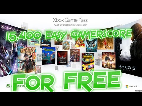 15 000 Easy Gamerscore For Free With Xbox Game Pass Trial