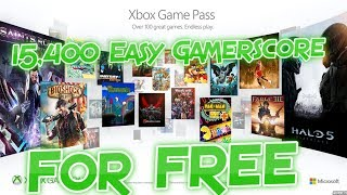 15,000+ Easy Gamerscore for FREE with Xbox Game Pass Trial!!!