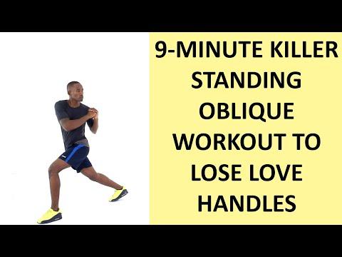 9-Minute Killer Standing Oblique Workout to Shrink Love Handles