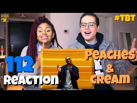 112  Peaches And Cream  #TBT  Reaction
