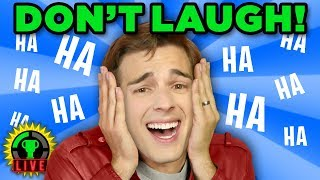 Win, Lose, or LAUGH!! | Impossible Try Not To Laugh Challenge!