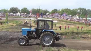 Танцующий трактор Бизон-Трек-Шоу 2017