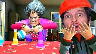 LA PROFESORA es UNA BRUJA !! - Scary Teacher 3D