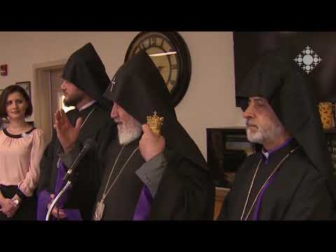 Pontifical Visit of the Catholicos of All Armenians to the Western Diocese