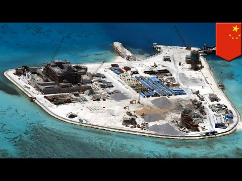 South China sea bases: China keeps on developing bases South China Sea - TomoNews