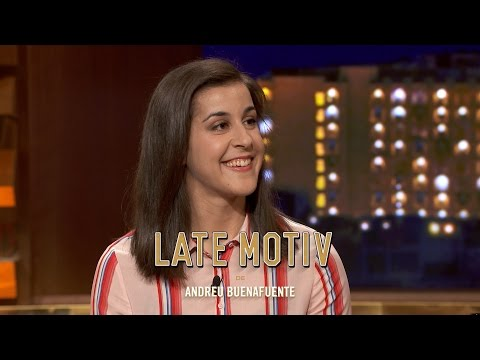 "LATE MOTIV - Carolina Marín  ""No me gusta ni perder al parchís con mi abuela""  LateMotiv234"