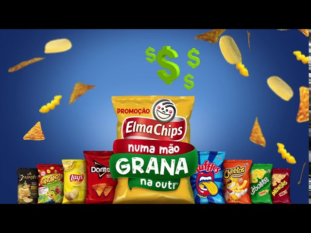 Promoção Elma Chips numa mão, grana na outra!
