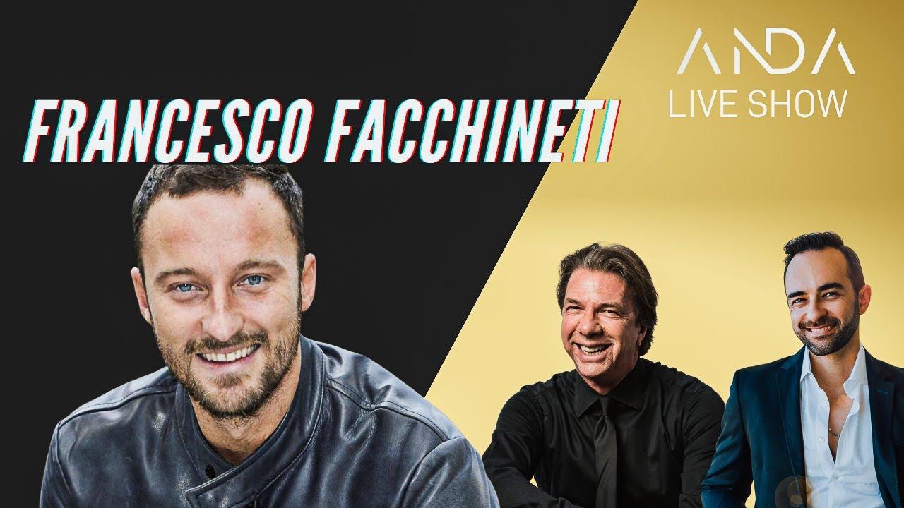 ANDA Live Show con ospite Francesco Facchinetti