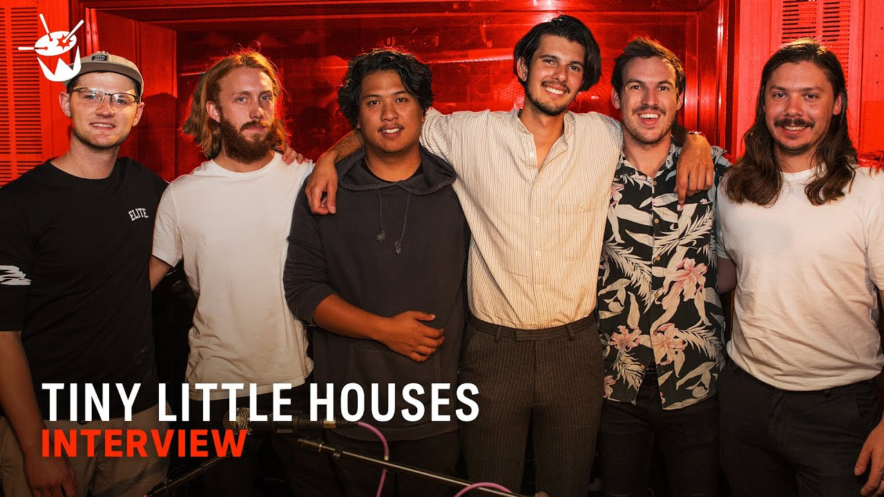 Tiny Little Houses talk day jobs in the music industry