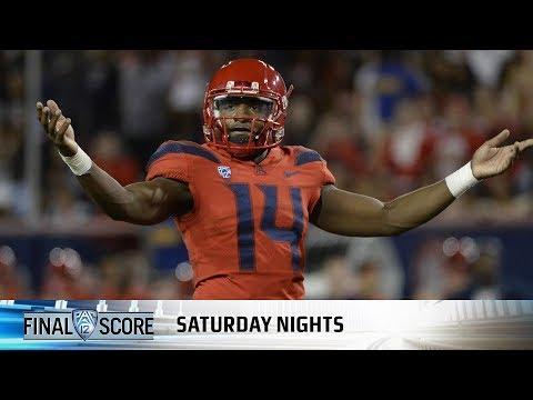 Recap: Khalil Tate, J.J. Taylor dominate in Arizona football