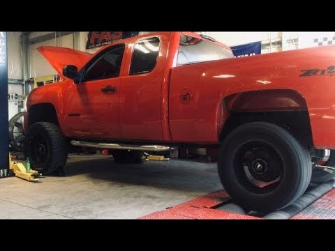 BTR Stage 2 V2 Truck Cam Idle and Dyno