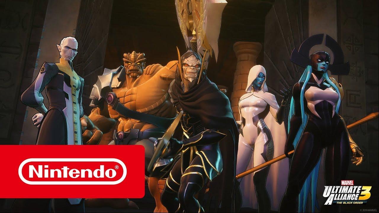 MARVEL ULTIMATE ALLIANCE 3: The Black Order   Nintendo
