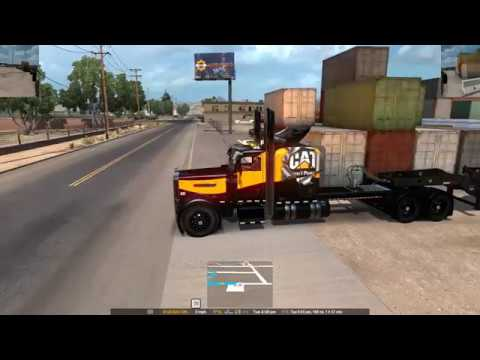 ATS Heavy Haul with Slippery's ownable trailer mod