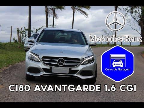 2017 C180 Avantgarde 1.6 CGI   Detalhes e impressões a bordo