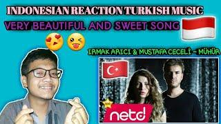 REACTION IRMAK ARICI  MUSTAFA CECELİ - MÜHÜR  TURKISH REACTION  TURKISH SONG  TURKISH MUSIC