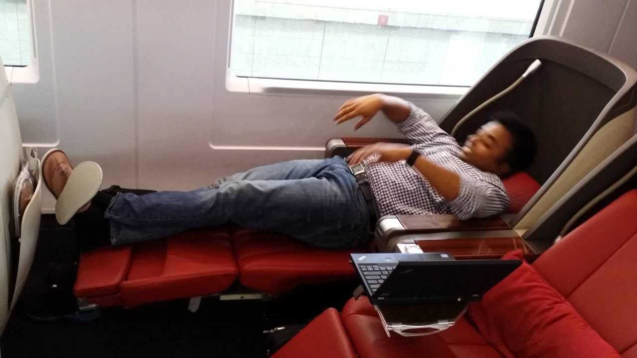 Bullet Train Business Class Seating  YouTube