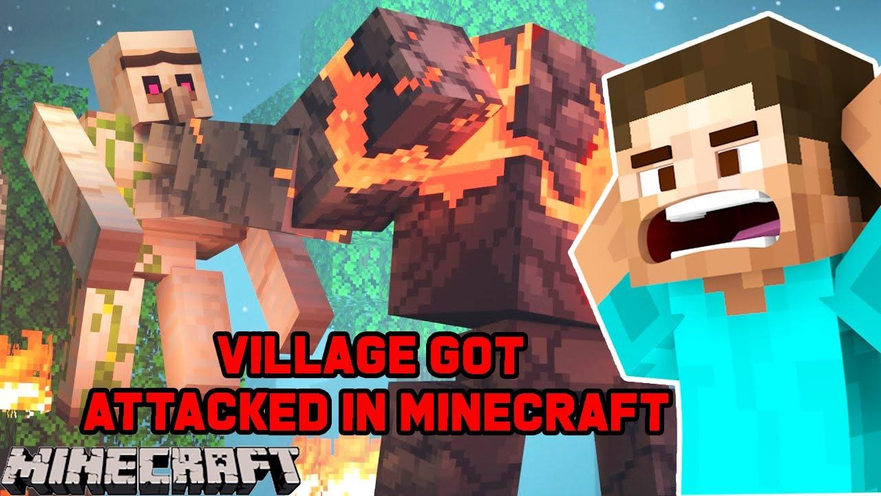My Village Got Attacked by Raiders | Minecraft Survival