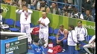 видео: Alexei Nemov HB EF Juegos Ol'impicos Atenas 2004 Алексей Юрьевич Немов