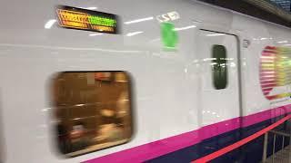 2018年 1月12日 東京駅 新幹線 E2系 E3系