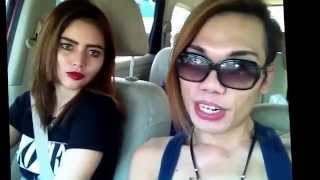 Key ikeyda And DJ Verny Hasan otw Bandung..perform show party night