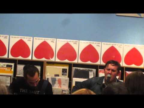 "The Gaslight Anthem - ""Selected Poems"" live im Dodo Beach Records, Berlin 30.10.2014"